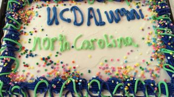 UCD Alumni North Carolina cake