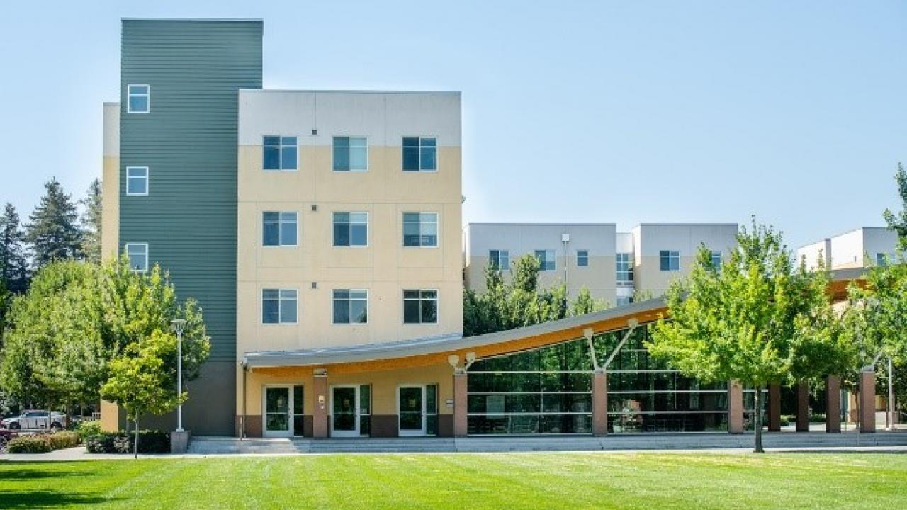 Residence Halls on UC Davis Campus