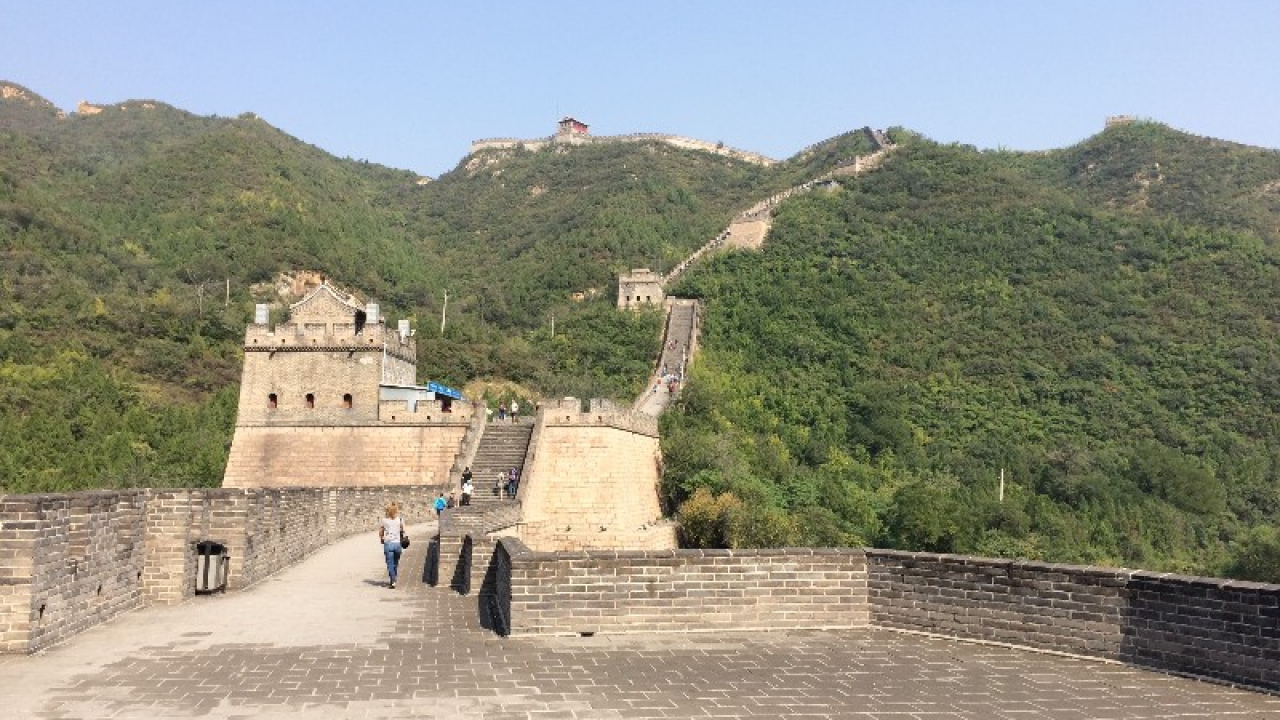 Great Wall of China, photo taken by a previous Aggie Adventures Traveler