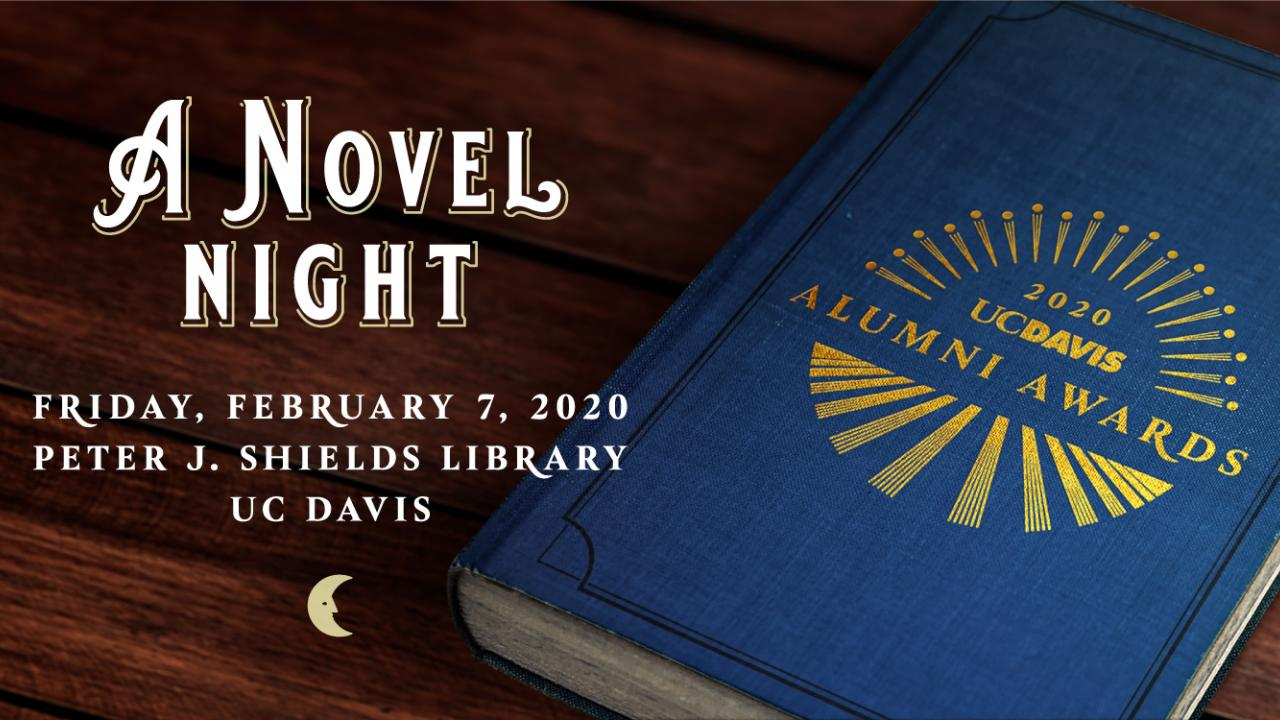 A Novel Night, Friday, February 7, 2020 in the Peter J. Shields Library
