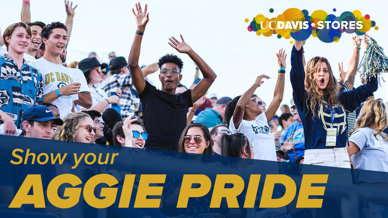 Show Your Aggie Pride - UC Davis Stores