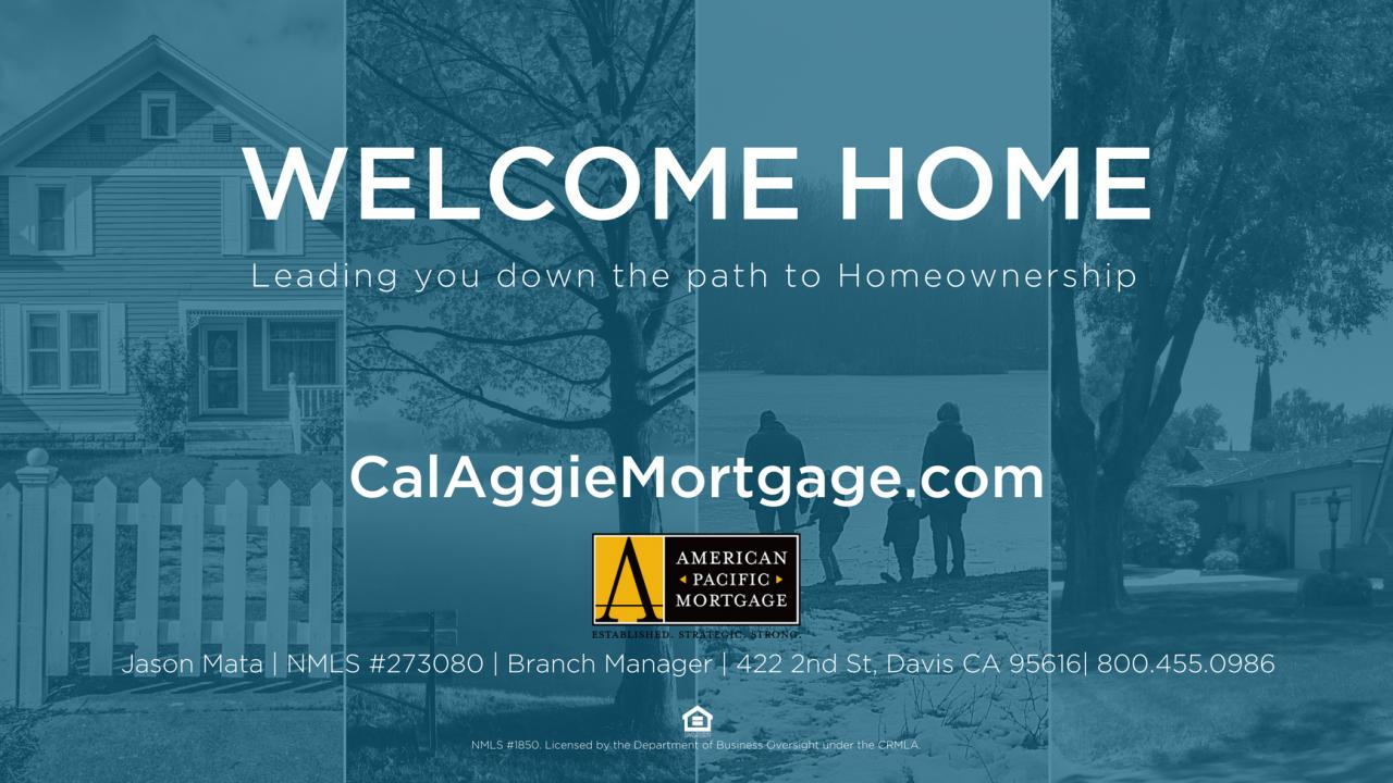 Welcome Home - American Pacific Mortgage