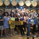 Aggies at San Antonio Winery