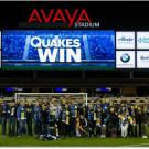 UC Davis group at a Quakes game