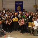 Alumni and friends at the 2018 Bakersfield dinner
