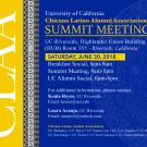 Flyer for CLAA Sumitt Meeting