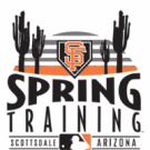 San Francisco Giants Logo, spring training text