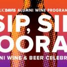 Alumni wine and beer celebration logo